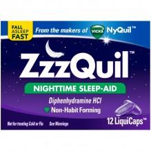 ZZZQUIL SLEEP AID LIQ-GELS 12CT