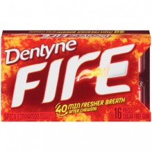 DENTYNE FIRE SPLT 2 FIT 16PC