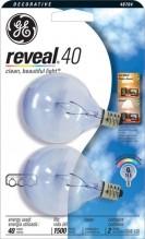 GE BULB REVEAL 40W CLEAR QQ