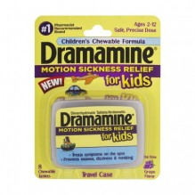 DRAMAMINE KIDS CHEW 8CT GRAPE