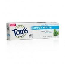 TOM'S SIMPLY WHT 4.7 OZ MINT