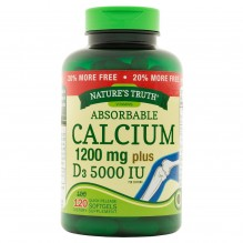 NATURE TRUTH CAL 1200MG+D3 120