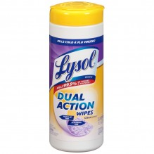 LYSOL WIPES DUAL ACTION 35 CT