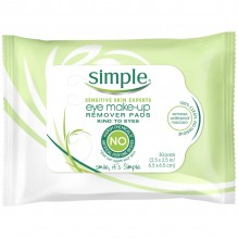 SIMPLE MAKE UP REMVR PADS 30CT