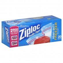 ZIPLOCK QT FREEZER BAGS 19 CT