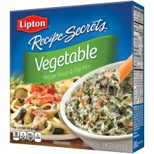 RECIPE SCRT VEGETABLE DIP 2 PK