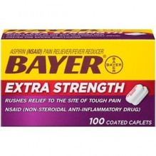 BAYER EX-STRENGTH CAPS 100'S