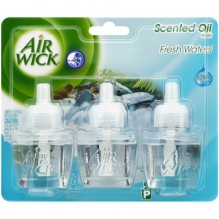 AIR WICK SCNT OIL 3PK FRSH WATR