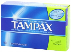 TAMPAX 10'S SUPER FLUSHABLE