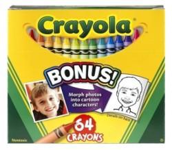 CRAYOLA CRAYONS 64 CT