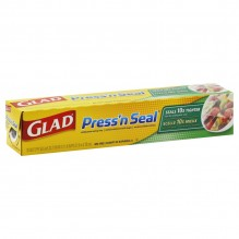 GLAD PRESS N SEAL WRP 70 SQ FT