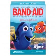 J&J B-AIDS FINDING DORY ASST 20