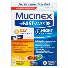 MUCINEX FAST-MX L/GEL SVR 24CT