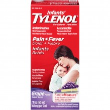 TYLENOL INFANT DROPS GRAPE 2OZ