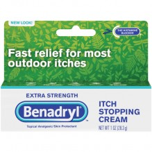 BENADRYL CREAM-XTRA STR 1 OZ