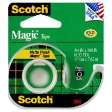 SCOTCH MAGIC TAPE #105 3/4X300