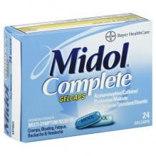 MIDOL MAX STRENGTH GELCAP 24'S