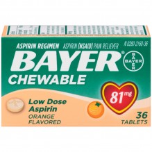 BAYER CHILD 36'S ORANGE