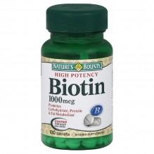 N/B #7961 BIOTIN 1000MG TBS 100