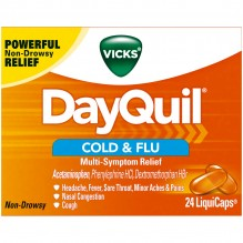 DAYQUIL 24'S LIQUICAPS CGH/CLD