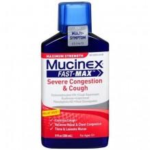 MUCINEX FAST-MX LIQ SVRE CGH 9Z