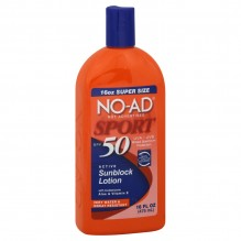 NO-AD SUNSCREEN SPRT SPF50 16OZ