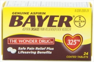 BAYER 24'S 325MG