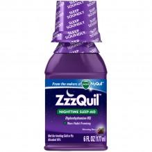 ZZZQUIL SLEEP AID LIQ 6 OZ