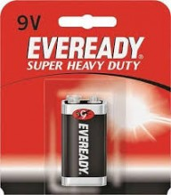 EVEREADY HVY DTY 9V CASE/18 PC
