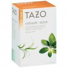 TAZO 20CT TEA REFRESH MINT .8OZ