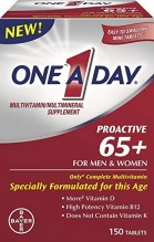 ONE A DAY PROACTIVE 65+ 150CT