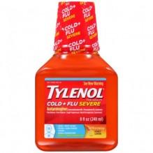 TYLENOL DM CLD&FLU NITE 8OZ