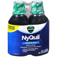 NYQUIL TWIN PACK 2/12OZ ORIG