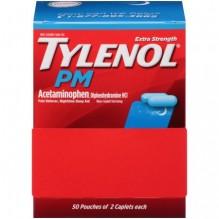 2CT TYLENOL PM 50X2S 36BOX/CS