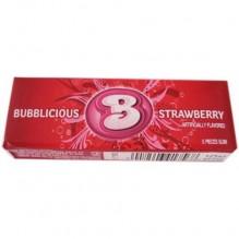 BUBBLICIOUS STRAWBERRY 5PC 8X18