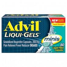 ADVIL LIQUI-GEL MINI'S 80 CT