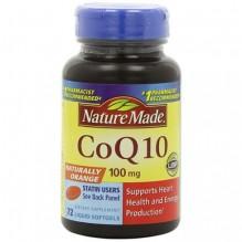 N/M #2613 CO-Q10 100MG LSG 72CT