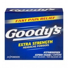 GOODYS HEADACHE POWDERS 24'S