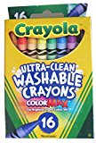CRAYOLA WASHABLE 16 CT