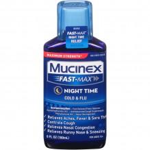 MUCINEX FAST-MX ADLT CLD/FLU 6Z