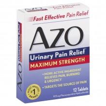 AZO MAX STRENGTH 12'S