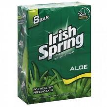 IRISH SPRING 3.7 OZ 8PK ALOE
