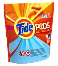 TIDE PODS 16CT CLEAN BREEZE