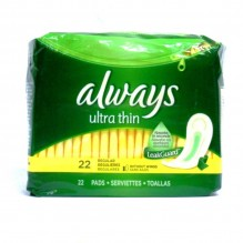 ALWAYS 22 CT ULTRA REG MAXI