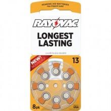 RAYOVAC H/A BATTERY #13 8PK