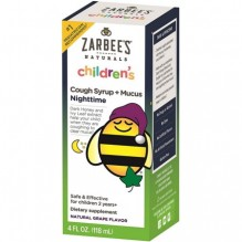 ZARBEES NAT 4OZ CHLD N/T CGH +