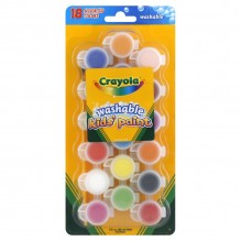 CRAYOLA KIDS PAINT 18CT POTS