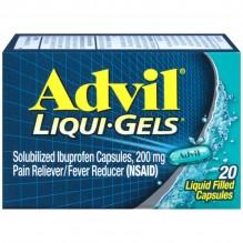 ADVIL LIQU-GELS 20'S