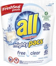 ALL MIGHTY PACS FREE/CLEAR 45CR