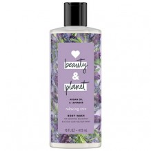 LOVE B&P 16OZ B/W LAVENDER